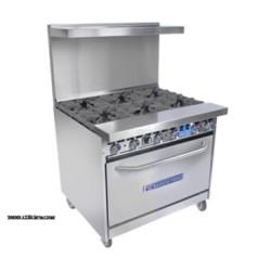 Bakers Pride - 36-BP-4B-G12-S30 - 36-BP-4B-G12-S30 Restaurant Series Range