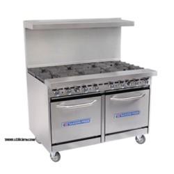 Bakers Pride - 48-BP-2B-G36-S20 - 48-BP-2B-G36-S20 Restaurant Series Range