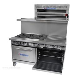 Bakers Pride - 60-BP-0B-G60-S26 - 60-BP-0B-G60-S26 Restaurant Series Range