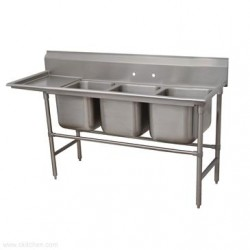 Advance Tabco - 9-3-54-18L - 9-3-54-18L Regaline Sink
