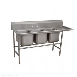 Advance Tabco - 9-3-54-18R - 9-3-54-18R Regaline Sink