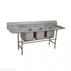 Advance Tabco - 94-3-54-24RL - 94-3-54-24RL Regaline Sink