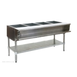 Eagle Group - AWT4-LP-2X - AWT4-LP-2X Water Bath Hot Food Table