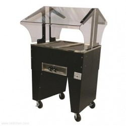 Advance Tabco - B2-120-B - B2-120-B Portable Hot Food Buffet Table