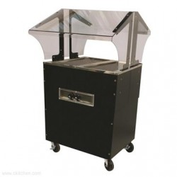 Advance Tabco - B2-120-B-SB - B2-120-B-SB Portable Hot Food Buffet Table