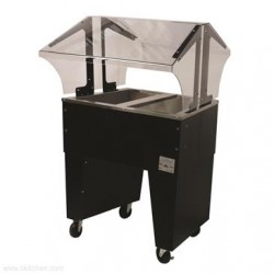 Advance Tabco - B2-CPU-B - B2-CPU-B Portable Cold Food Buffet Table