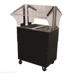 Advance Tabco - B2-CPU-B-SB - B2-CPU-B-SB Portable Cold Food Buffet Table