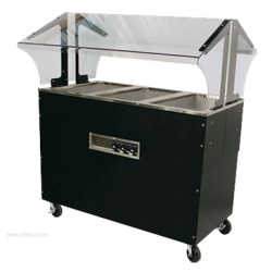 Advance Tabco - B3-120-B-SB - B3-120-B-SB Portable Hot Food Buffet Table