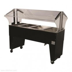 Advance Tabco - B4-CPU-B-X - B4-CPU-B-X Portable Cold Food Buffet Table