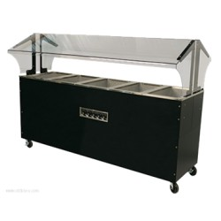 Advance Tabco - B5-240-B-SB - B5-240-B-SB Portable Hot Food Buffet Table