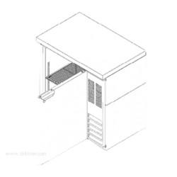 Beverage-Air - BB36GF-1-B-27 - BB36GF-1-B-27 Refrigerated Food Rated Back Bar Storage Cabinet