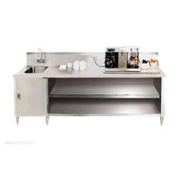 Advance Tabco - BEV-30-120L - BEV-30-120L Beverage Table