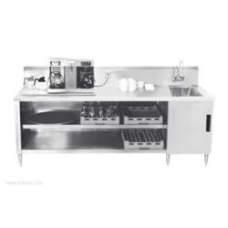 Advance Tabco - BEV-30-144R - BEV-30-144R Beverage Table