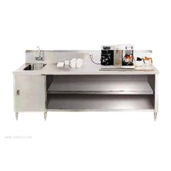 Advance Tabco - BEV-30-96L - BEV-30-96L Beverage Table