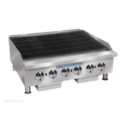 Bakers Pride - BPHCRB-2460I - BPHCRB-2460I Charbroiler