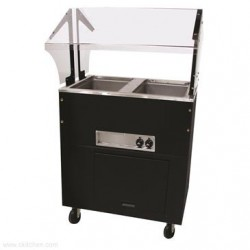 Advance Tabco - BSW2-240-B-SB - BSW2-240-B-SB Portable Hot Food Buffet Table