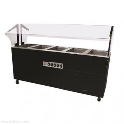 Advance Tabco - BSW5-240-B-SB - BSW5-240-B-SB Portable Hot Food Buffet Table