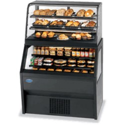 Federal - CD4828SS/RSS4SC - CD4828SS/RSS4SC Specialty Display Hybrid Merchandiser Refrigerated Self-Serve Bottom With Non-Refrigerated Self-Serve Top