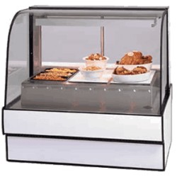 Federal - CG5948HD - CG5948HD Curved Glass Hot Deli Case