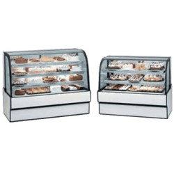 Federal - CGR5948 - CGR5948 Curved Glass Refrigerated Bakery Case