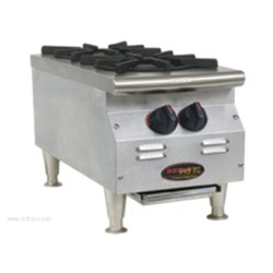Eagle Group - CLHP-2-NG-X - CLHP-2-NG-X RedHots Chef's Line Hotplate