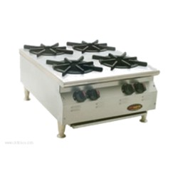 Eagle Group - CLHP-4-NG-X - CLHP-4-NG-X RedHots Chef's Line Hotplate