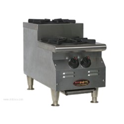 Eagle Group - CLUHP-2-NG-X - CLUHP-2-NG-X RedHots Chef's Line Step-Up Hotplate