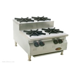 Eagle Group - CLUHP-4-NG-X - CLUHP-4-NG-X RedHots Chef's Line Step-up Hotplate
