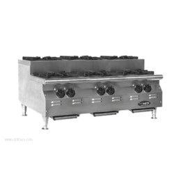 Eagle Group - CLUHP-6-NG-X - CLUHP-6-NG-X RedHots Chef's Line Step-UP Hotplate