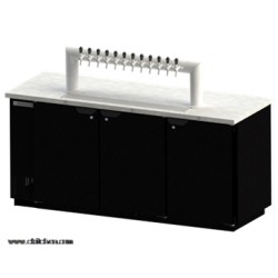 Beverage-Air - DD78-1-S-12T - DD78-1-S-12T Draft Beer Cooler