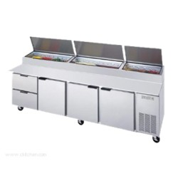 Beverage-Air - DPD119-2 - DPD119-2 Pizza Top Refrigerated Counter