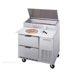 Beverage-Air - DPD46-2 - DPD46-2 Pizza Top Refrigerated Counter