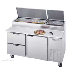 Beverage-Air - DPD67-2 - DPD67-2 Pizza Top Refrigerated Counter