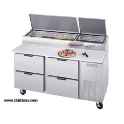 Beverage-Air - DPD67-4 - DPD67-4 Pizza Top Refrigerated Counter