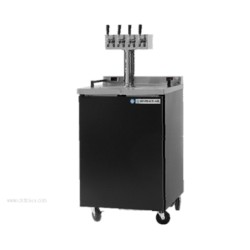 Beverage-Air - DZ24-1-B - DZ24-1-B Dual Zone Beer & Wine Draft Cooler