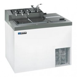 Master-Bilt / Standex - FLR-60 - FLR-60 Ice Cream Dipping Cabinet with Flavorail