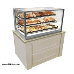Federal - ITD3626 - ITD3626 Italian Glass Non-Refrigerated Display Case