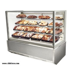 Federal - ITD6026-B18 - ITD6026-B18 Italian Glass Non-Refrigerated Display Cases