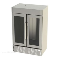 Victory Refrigeration - LSF49-1-G - LSF49-1-G UltraSpec Series Merchandiser Freezer Featuring