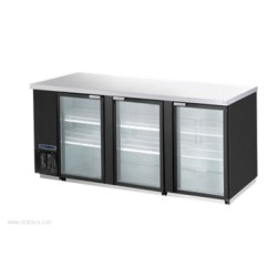 Maxx Cold - MCBB-90-3BG - MCBB-90-3BG Refrigerated Back Bar Cooler