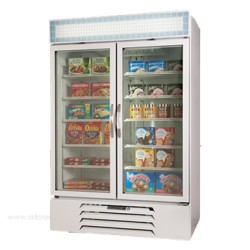 Beverage-Air - MMF49-1-W-LED - MMF49-1-W-LED MarketMax Freezer Merchandiser