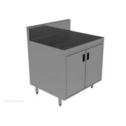 Advance Tabco - PRSCD-19-36 - PRSCD-19-36 Prestige Underbar Drainboard Cabinet