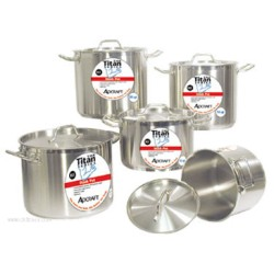 Admiral Craft - SSP-12 - Admiral Craft SSP-12 Titan Series Induction Stock Pot