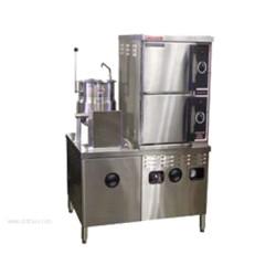 Market Forge - ST-10M42MT10G - Industries ST-10M42MT10G Convection Steamer/Kettle Combination