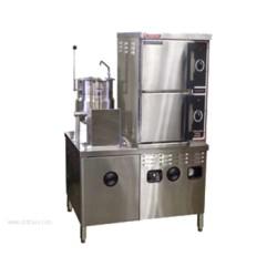 Market Forge - ST-10M42MT12E - Industries ST-10M42MT12E Convection Steamer/Kettle Combination