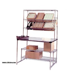 Metro Shelving - SWHPS3048 - SWHPS3048 Amenity Pick-Up Station 30 x 48: (1) standard