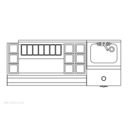 Perlick - UCS60A-LF - Corporation UCS60A-LF Underbar Cocktail Station