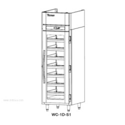 Victory Refrigeration - WC-2D-S1 - WC-2D-S1 Refrigerated Wine Cooler