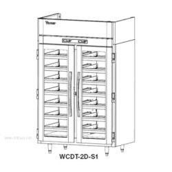 Victory Refrigeration - WCDT-1D-S1 - WCDT-1D-S1 Dual Temperature Refrigerated Wine Cooler