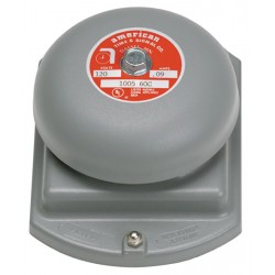 American Time & Signal - 3404-24V-WP-WEB - BELL 4 1/4 24VAC WEATHERPROOF .35 AMPS, 35 OHMS